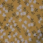 פרחים רקע צהוב